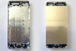 iPhone 5S в золотистом корпусе фото