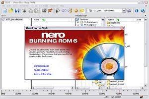Nero Burning Rom фото