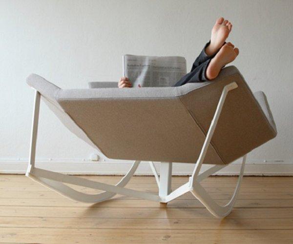 кресло-качалка для двоих фото