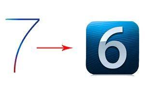 откат с iOS 7 на iOS 6 фото