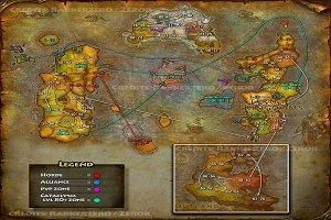 карта путей прокачки фото