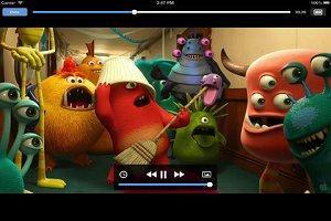 видеоплеер для iPad фото