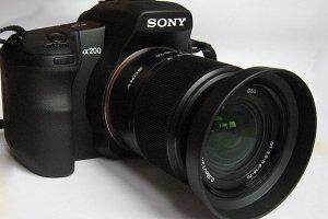 Sony alpha фото