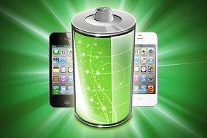 батарея iPhone фото