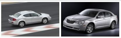 Chrysler Sebring и Dodge Avenger - самые безопасные авто в мире
