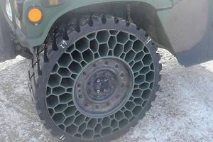 новые безвоздушные шины