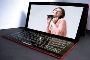 первый в мире OLED-ноутбук