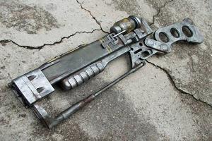 лазерная  винтовка  по типу Fallout 3