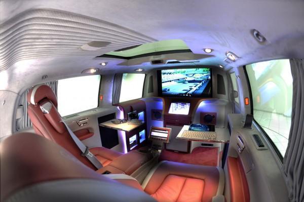 Brabus iBusiness 3D Mercedes-Benz Viano