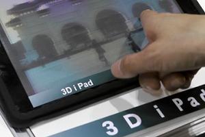 iPad c 3D дисплеем