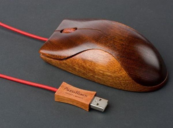 Деревянная мышь от AlestRukov