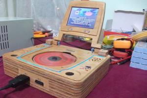 Деревянный моддинг Sega Saturn