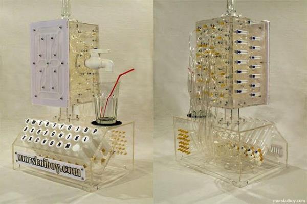 Печатная машинка для коктейлей