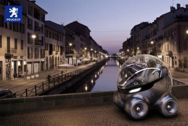Peugeot - футуристический концепт-кар
