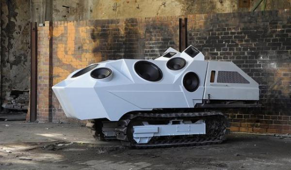 Саундсистема Panzer