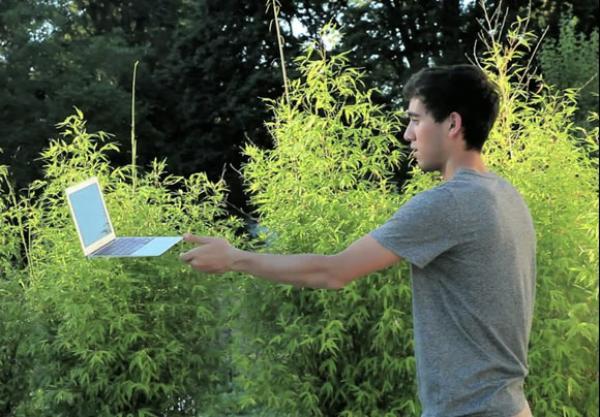 Летающий MacBook Air