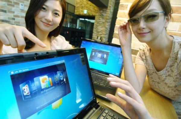 LG A530 – геймерский ноутбук с поддержкой 3D изображения