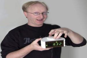 Самодельные часы от Бена Хека