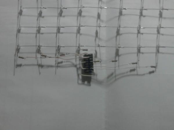 Светодиодный дисплей на заднее стекло автомобиля