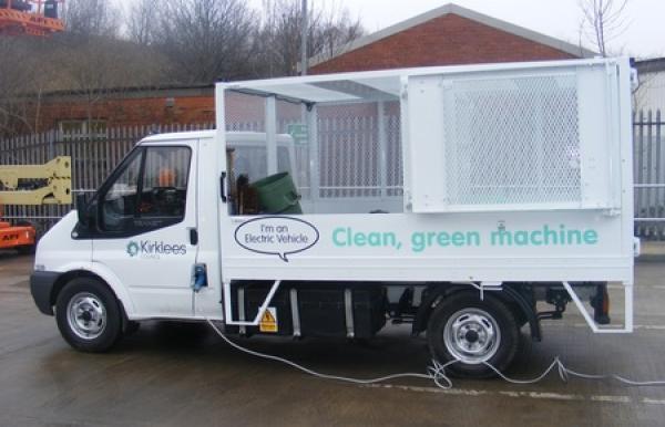 электрический мусоровоз