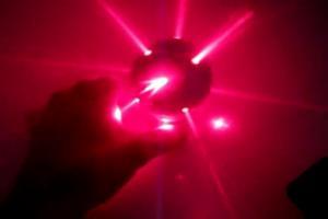 Самодельный лазерный шар