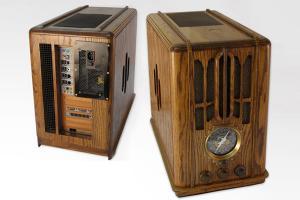Zenith 5-s-29 Radio - моддинг системного блока