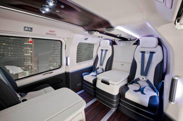 Eurocopter EC145 от Mercedes-Benz - сверхкомфортный авиа-транспорт