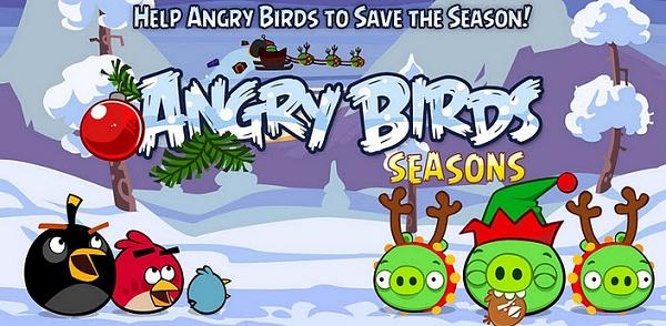 Angry Birds Seasons для Android