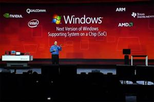 Пользователи планшетов на базе Windows 8 не смогут работать с Linux