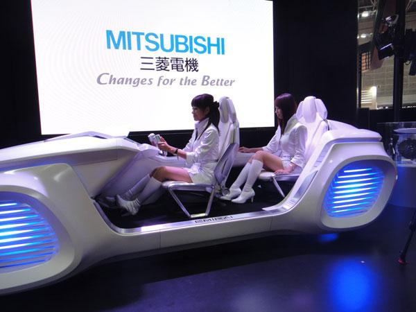 Футуристический концепт от Mitsubishi Electric