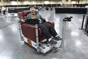 Самоходное кресло управляемое жестами
