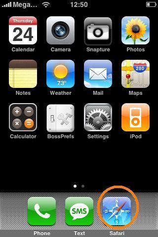 Выходим в интернет на iPhone