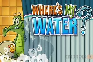 Where's My Water или аллигатор Своми на Android