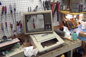 Apple II Plus. Фото