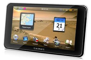 teXet TN-521HD DVR - GPS. Фото
