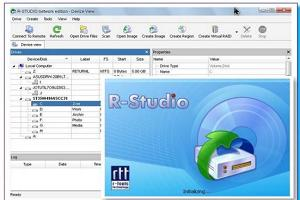 Фото программы R-Studio
