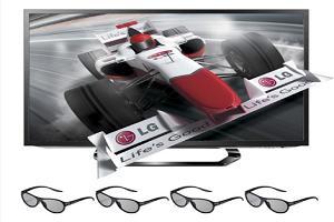 На фото 3D LED-телевизор
