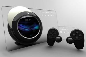 На фото игровая платформа PS4