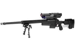 На фото снайперская винтовка Precision Guided Firearm для iPhone
