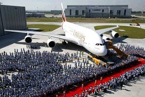 Аэробус А380 фото