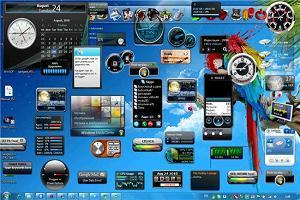 гаджеты для Windows 7 фото